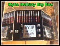 Wholesale Kylie Lip Kit by kylie jenner Velvetine Liquid Matte kylie Vault days of Christmas Holiday Big Box
