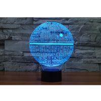 Wholesale Carola Star LED Light Acrylic Visual Spherical Room Lighting Dimensional D LED Light