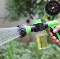 Wholesale Hot Auto Car Foam Water Gun Washer Portable High Pressure Car Wash Water Gun Home Car Cleaning Tools LJJP430
