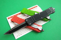 Wholesale Sale style MICROTECH T head troodon Automatic knives blade allumen handle camping survival cutting tools tactical knife