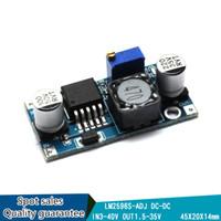 Wholesale DC DC Step down Power Converter Module LM2596 LM2596S ADJ DC V V to V V Adjustable Voltage Regulator Hot Sale