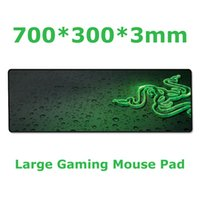 Wholesale Razer mm large gaming mouse pad Locking Edge Speed version Mouse mat keyboard pad for desktop and laptop computer