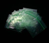 Precio de Bolsas de plástico para alimentos-Verde 3.8 * 4.8 CM 100 PC / porción Auto-denominó el bolsillo Resealable transparente de los bolsos de empaquetado plásticos Bolsos de plástico Empaquetado de los alimentos