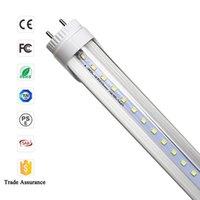 Wholesale 4ft led tube t8 mm foot W AC V V rotation G13 LED fluorescent tubes SMD2835 k White