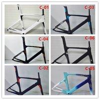 Wholesale 2017 Carbon Fiber Road Bike Frame Full Carbon Road Frame Road Bike Bicycle Carbon Frame K UD many colors to choose