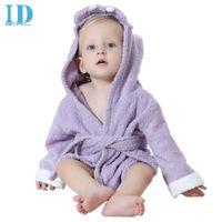 Wholesale Hot Summer new baby bathrobe baby cotton towel cartoon lovely variety