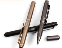 aluminum guard - New Arrival Portable Tactical Pen Self Defense Tool Aviation Aluminum Anti skid Cooyoo tool Laix B1 self guard pen