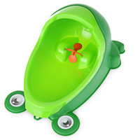 Wholesale Baby Boy Potty Toilet Training Frog Children Stand Vertical Urinal Boys Penico Pee Infant Toddler Wall Mounted Urinals
