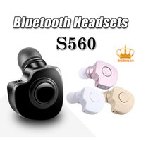 apple wireless connection - S560 Wireless Bluetooth V4 Hands Free Stereo Earphone Wireless Bluetooth Headset Earphone with Microphone Multi Connection for iPhone