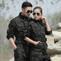 Hunting army field uniform - Military Uniforme Militar Outdoor Field Camouflage Outdoor Winter Cotton Warm Suit Black Hawk Training Uniforms Wearproof Army Hunting Sets