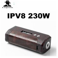 balck box - Authentic Pioneer4You iPV8 W Box Mod Dual Battery Mods Powered By YiHi SX330 f8 Chip Sliver Balck Red Color