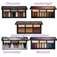 Wholesale Newest KAT VON Eyeshadow Palette Eye Contour Makeup D brand naked makeup palette glitter eyes kit