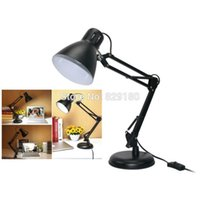 Wholesale LED Table Lamp Iron Morden Foldable Long Arm Desk Lamp Reading Lamp E27 Office Lamp For Study