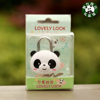 Ceramics Sky Blue Bamboo Dragonfly The whole audience 10 pieces of Sichuan panda souvenir gift, mini panda suitcase lock, padlock, notebook lock