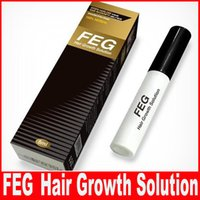 Wholesale 100pcs FEG Hair Growth Solution for Regrow Missing Hair Cure Hair Loss Problem Alopecia FEG Thinning Hair Treatment