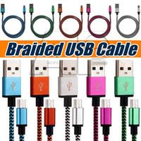 al por mayor cuerdas de galaxias-Micro V8 USB Cables Tipo-C Línea de Datos Cable del cargador Tipo de carga c Cable Weve Para Samaung Galaxy S8 Plus S7 Edge S6