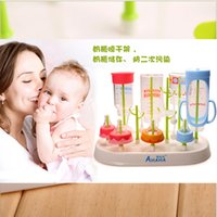 Wholesale Bottle rack bottles to dry bottle drying rack pacifier drop easy disassembling maternal and child supplies more upset