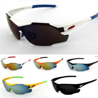 Wholesale 20pcs Ropa Ciclismo Cycling Glasses UV400 Outdoor Sports Windproof Eyewear Mountain Bike Bicycle Motorcycle Glasses Sunglasses