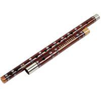 bass flute music - Chinese Bamboo Flute Dizi Traditional Handmade Transverse Bambu Flauta Music Musical Instrument C D E F G bass G bass A bB