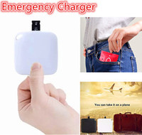 Disposable Charging treasure   For iPhone 7 7 plus Headphone Adapter 2 in 1 1000 mA One Time Use Emergency Power Bank Mimm for iphone cable Earphone Charger Jack converter