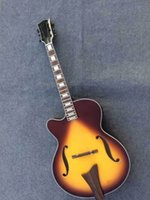 acoustic guitar jazz - New Arrival JAZZ Electric Acoustic Guitar ES175 Model Left Handed In Sunburst