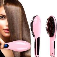 El pelo hermoso del estilo NASV de la enderezadora del cepillo de pelo de la estrella endereza la enderezadora HQT-906 del pelo recto VS KD-388