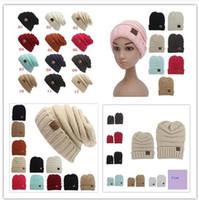 baby mum - Newest Parent Child CC hats Baby Mum Wool Beanie Winter Knitted Hats Warm Hedging Skull Caps Hand Crochet Caps Hats