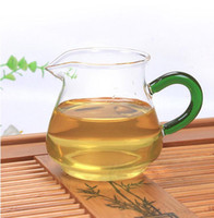 Wholesale glass tea kettle and cup set tea serving cup heat resistant tea Sharing Pot