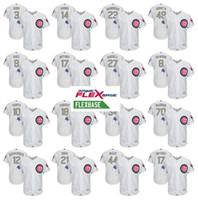 Cheap Baseball Chicago Cubs baseball jersey Best Men Short Javier Baez Jersey