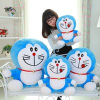 Wholesale Factory direct duo a dream doll doraemon cat plush toy dora blue fat pillow girlfriend gift