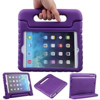 Light Weight Shock Proof Cabriolet Super Protection Handle Stand Enfant Enfants Étui EVA pour Ipad 2/3 4 ipad mini ipad air