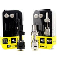 best selling electronics - Original Uwell Crown Tank Best Selling Electronic Cigarette Sub Ohm Vape Tank Best Price DHL Shipping Free