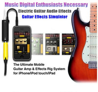 amps for guitar - New High Quality Rig Guitar Link Audio Interface AMP Multimedia Rig System Guitar Effects Pedal Convertor for iPhone iPad iPod