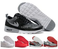 air max running - 2017 New Classical Maxes Thea Print Running Shoes For Women Men Brand Air Soft Cushion Outdoor Sneakers Eur Size
