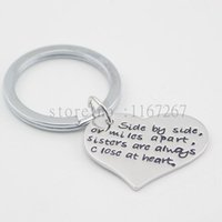 best apart - 2016 new quot Side by side or miles apart sisters are always close at heart quot necklace Best Friends Are the Sisters We Choose Necklace