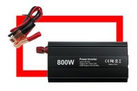 Wholesale Portable Car Auto Power Inverter W DC V AC V with dual USB Charger Converter Adapter Universal