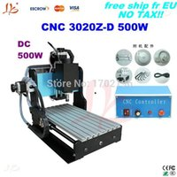 Wholesale Ship from UK free Tax woodworking machines from china Z D W ball screw CNC engraver with limit switch