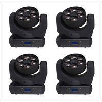 Wholesale 4pcs x15W osram RGBW in1 bee eye LED beam moving head light beam club disco ktv effect light stage lighting