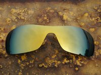 Wholesale BOTT Polarized Replacement Lenses for Antix Sunglasses K Golden UVA UVB