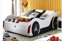 Wholesale Home bedroom furniture cute model car single bed children bed