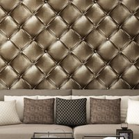 Wholesale European simulation dermatoglyphic stereo D soft wallpaper the living room TV backdrop simple bedroom wallpaper KTV