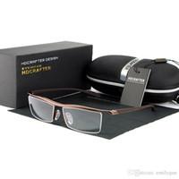 Ópticas de alta calidad Gafas Marco Marca Mypioa Marco Hombre Lentes Gafas de las mujeres Gafas graduadas ópticas con Orignal Case