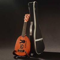 Red bear knobs - Inch Mahogany Small Guitar Ukulele Guitar Ukuleles Hawaii Small Four String Guitar Wood Bear U900 Semi closed Knob