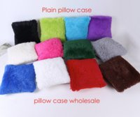 Wholesale 100pcs blank candy full color plush soft pillow case plain cushion hold pillow cm can provide picture custom color
