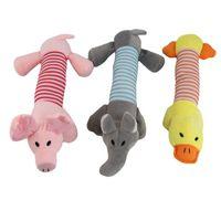 Wholesale Infant Baby Plush Toys Sound Animal Model Soft Cartoon Handbells Children Mobiles Stuffed Baby Rattles Toy Hand Puppet NQ880662