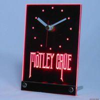 beer bar table - tnc0154 Motley Crue Band Rock Bar Beer Table Desk D LED Clock
