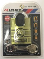 Wholesale zinc alloy fashion top security high grade shackle protection mm padlock