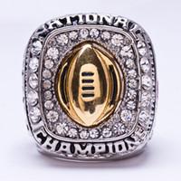 Wholesale NCAA Ohio State Buckeyes championship rings fashion men jewelry