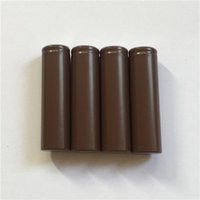 Wholesale 100 HIgh Quality HG2 Battery mAh A MAX For LG Cells Lithium Rechargeable Batteries VS HE4 HE2 R Q mah Battery