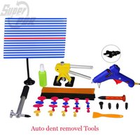 auto assembly line - Paintless dent removal Tool set pieces set Auto body dent removel Tools with pdr line board